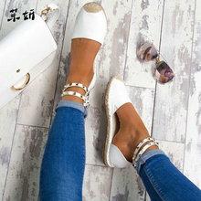 Women Summer Shoes Rome Sandals Women's Gladiator Flats Ladi