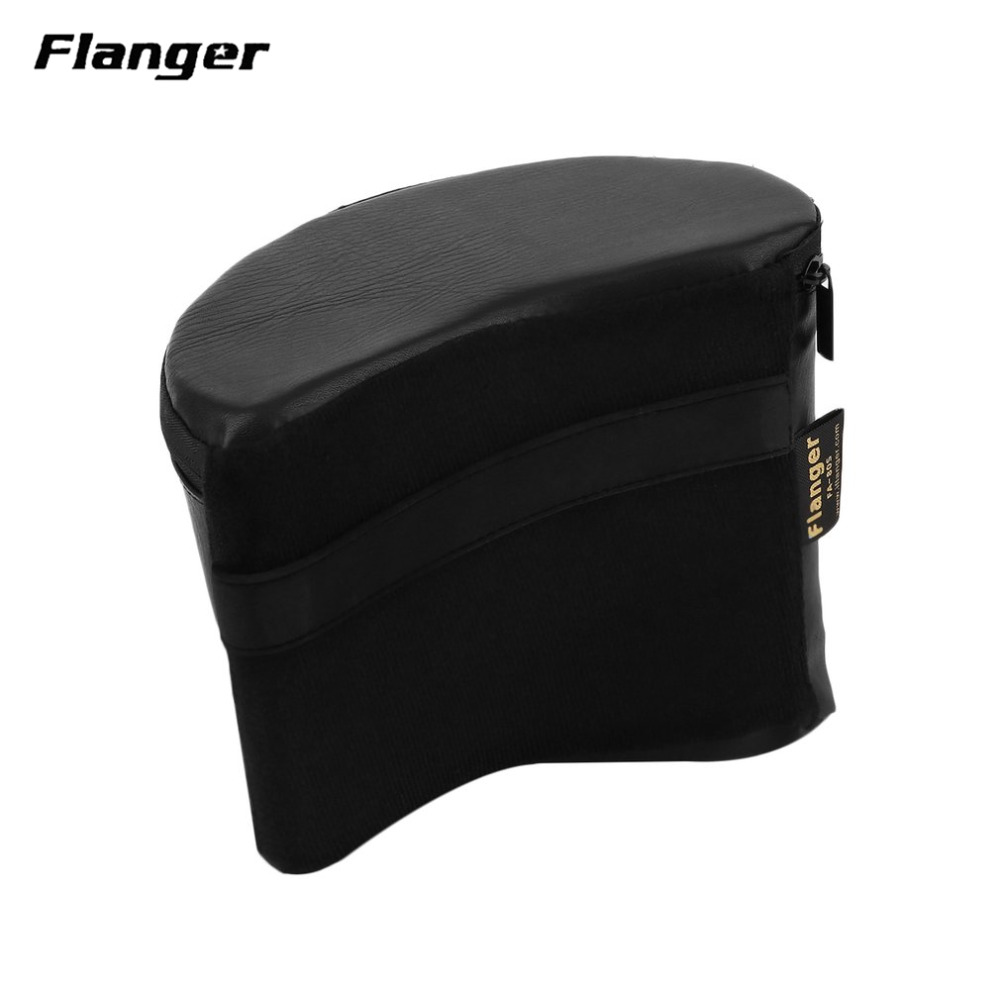 Flanger Professional Guitar Rest For Classical Guitar Reduce Fatigue Instead Of Guitar Footstool Black FA-80S Drop Shipping alloy classical guitar capo black silver