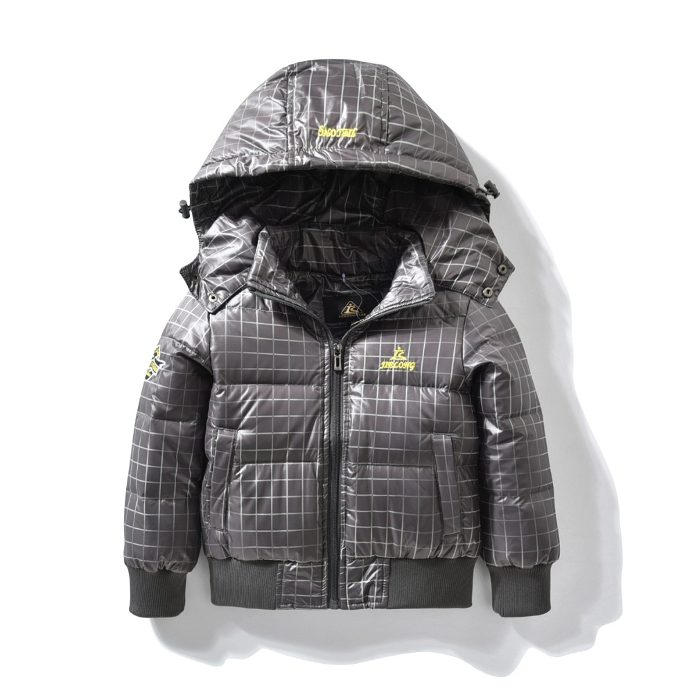 Down Jacket for baby Boys Children hooded outerwear coat with soft nap kids jackets for Boy Autumn Winter children clothing baby boys children outerwear coat kids jackets for boy girls winter jacket warm hooded children clothing