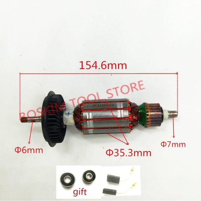 Armature AC220 240V Rotor Motor for BOSCH GWS8 125 GWS8 125CE GWS850CE GWS850C GWS8 100C GWS8 125C GWS8 100CE
