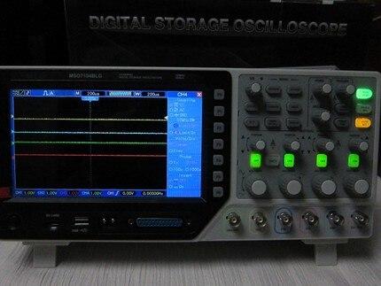 Быстрое прибытие Hantek MSO7304BLG 3 в 1 4Ch осциллограф 8 Ch анализатора логики 25 МГц Arb. Генератор сигналов 2Gsa/s 300 МГц 32 к