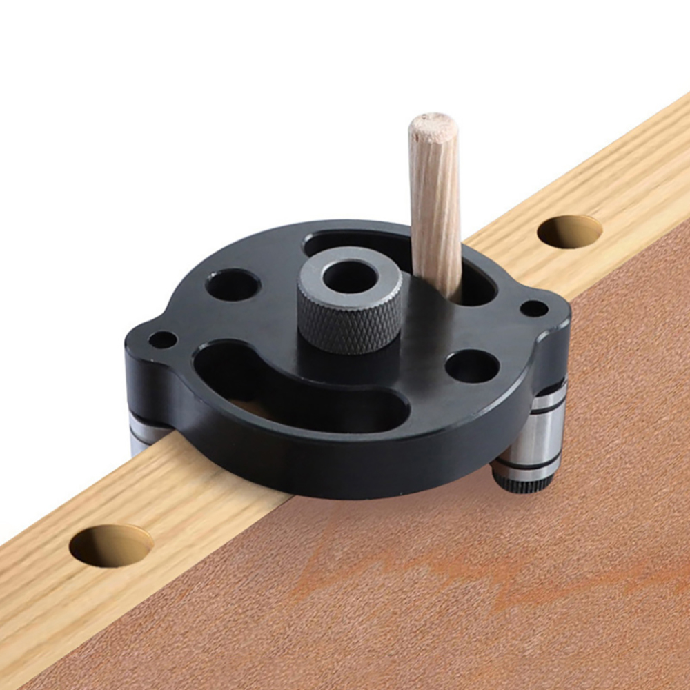 6/8/10mm Woodworking Tools Multifunctional Hole Locator Perforated Puncher Dowel Jig Gauge Panel Self Centering Positioning Dril