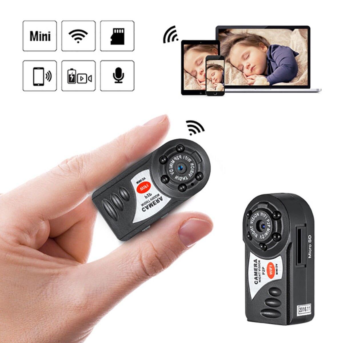 Mini WIFI P2P Wireless Micro Camera Q7 DV Car DVR Video Recorder CamcorderMini WIFI P2P Wireless Micro Camera Q7 DV Car DVR Video Recorder Camcorder