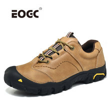Купить с кэшбэком New Classics Style Men Casual Shoes Lace Up Natural Leather Men Shoes Soft Comfortable Sneakers Shoes Men Sapato Masculino
