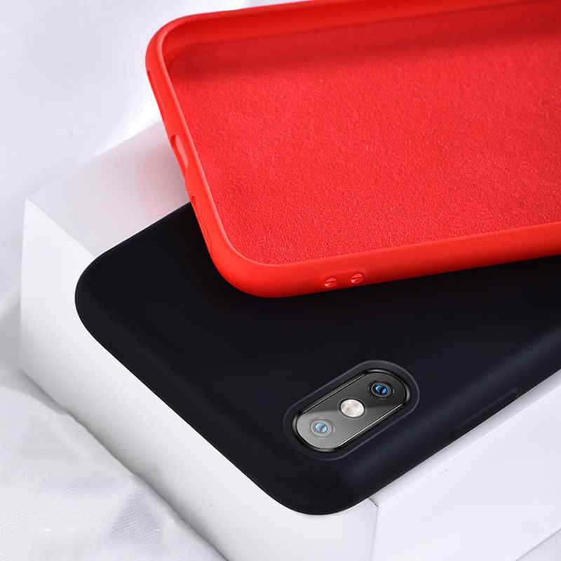 Simple สีทึบซิลิโคนโทรศัพท์สำหรับ iPhone 11 XS MAX X XR น่ารัก Candy สีกลับนุ่มสำหรับ iPhone 6 6 S 7 8 PLUS Case