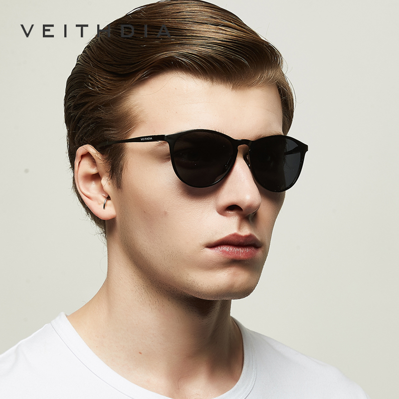 32981956b95 VEITHDIA Unisex Retro Aluminum Magnesium Mirror Sunglasses Polarized Lens  Vintage Eyewear Driving Sun Glasses Men Women 6625-in Sunglasses from  Apparel ...