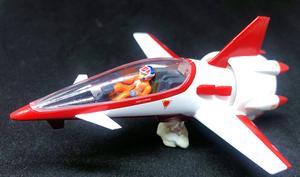 YAMATO Macross FAN RACER 1/60 Hikaru Ichijo Angel Birds DX Chogokin VF-1j(China)