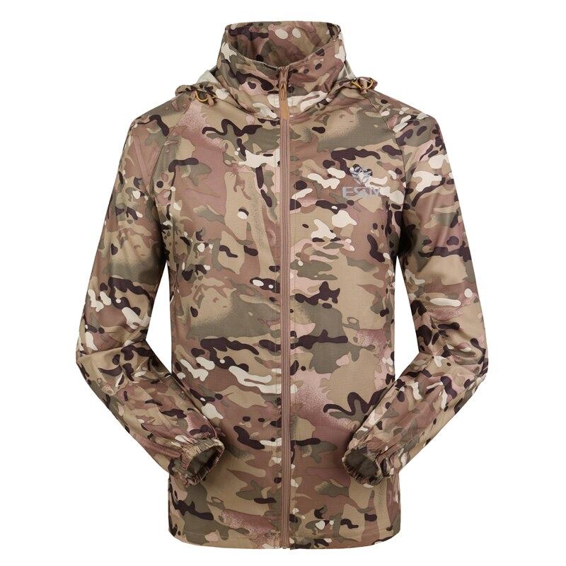 Outdoor Camouflage Skin Dünner UV-Schutzmantel Outdoor-Wanderjacke - Sportbekleidung und Accessoires - Foto 2