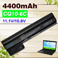 4400 mah bateria do portátil para compaq mini cq10 cq10-400 series para hp hstnn-db1t hstnn-db1u hstnn-e04c wq001aa 06ty