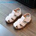 KKABBYII Niños Playa Sandalias de Gamuza antideslizante Niños Zapatos Respirables de Los Muchachos Zapatos de Las Sandalias de 2017 Nuevas de Cuero de Verano