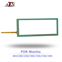 Touch Screen panel For Konica Minolta BHC 250 252 300 350 352 450 compatible Copier BHC250 BHC252 BHC300 BHC350 BHC352 BHC450 bh420 touch screen high quality copier parts for konica minolta bizhub 420 500 touch screen bh420 bh500 touch panel