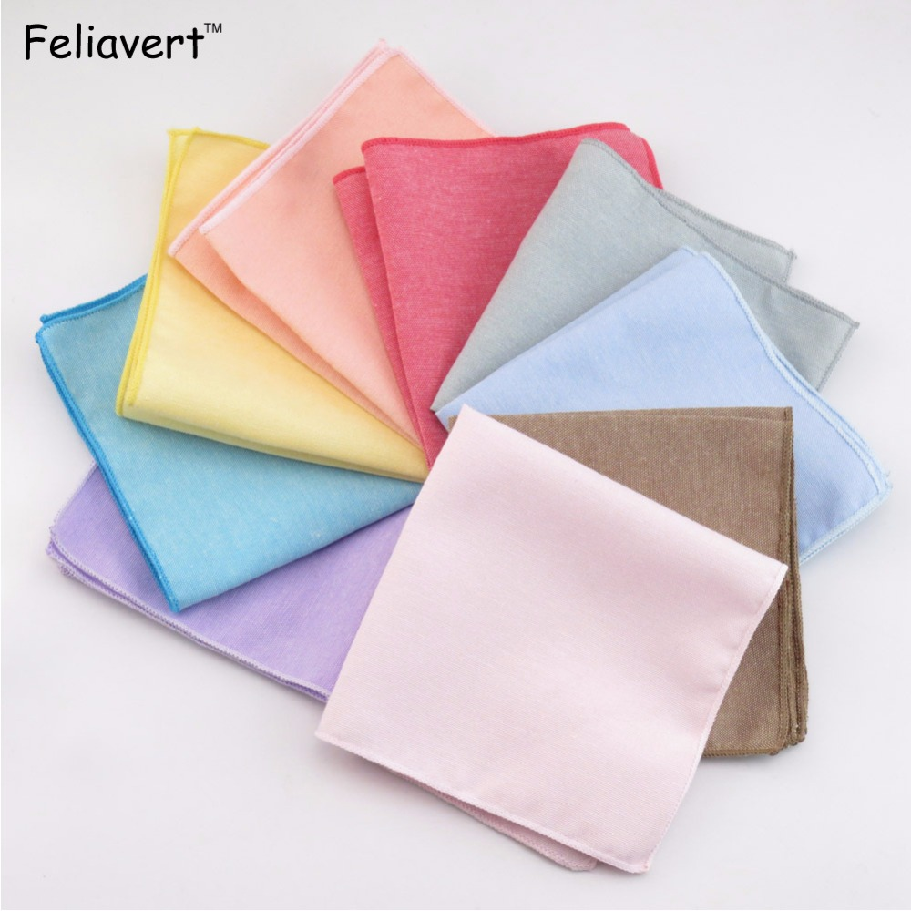 Fashion Handmade Mens Suits Pocket Square Candy Color Hankies Men Wedding Suit Pockets Hanky Party Casual Handkerchief