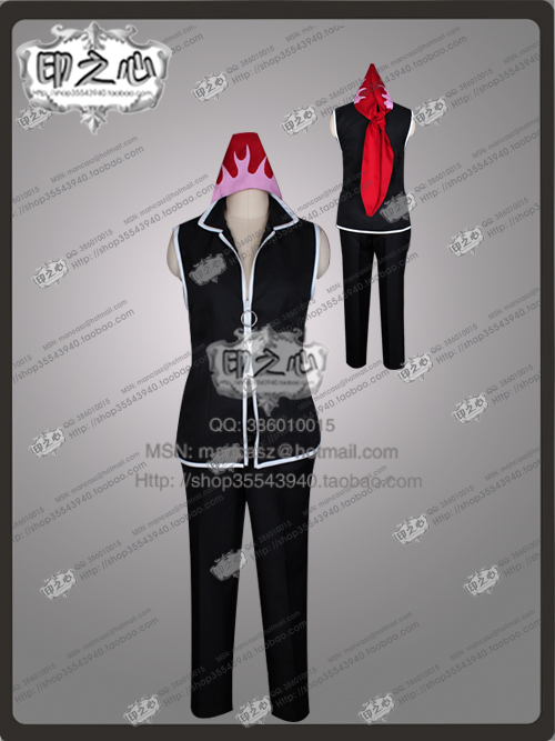 Food Wars Shokugeki no Soma Kurokiba Ryou Cosplay Costume