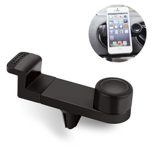 Universal Air Vent Mobile Phone Car Holder Mount Dock for iPhone 7 6s 6 5 Samsung HUAWEI LG XIAOMI zenfone cellphone car holder ikki car mounted g shaped bracket cellphone holder set for lg g2 black