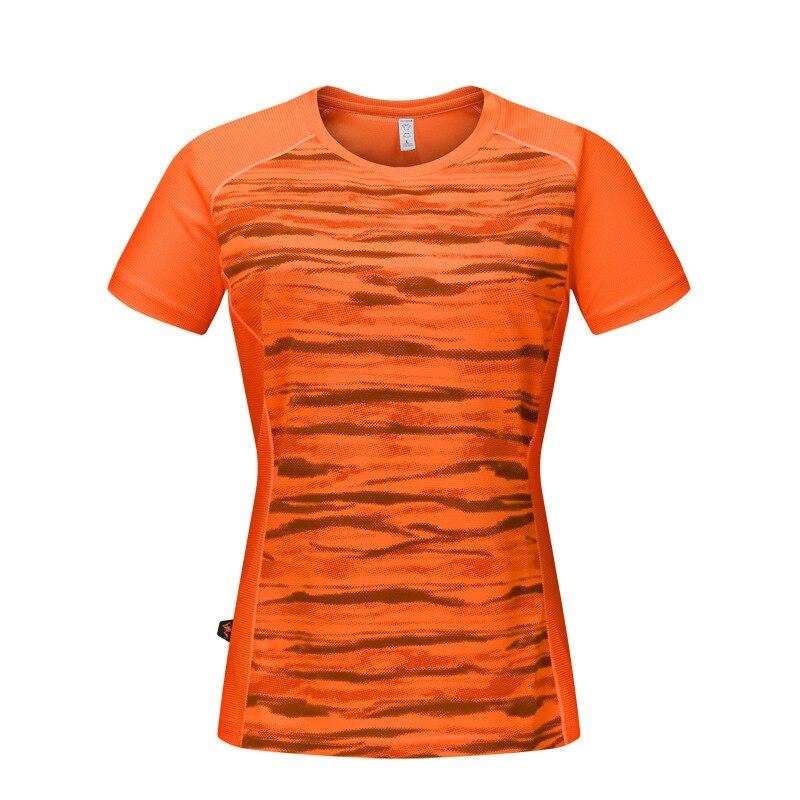 New Summer Woman Camo Leisure Sport Camping T-shirt Outdoor Running Hiking T Shirt Women O-neck Short Sleeve Quick Dry T-shirts