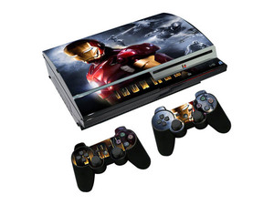 Image 4 - Joker Vinyl Skin For PS3 Fat Console Sticker Cover For Playstation 3 Fat Controllers Controle Gamepad Mando Decal