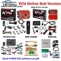 DHL Бесплатная KTAG V7.020 KESS V2 V5.017 SW V2.25 v2.53 2 53 FGTECH 0386 BDM зонд адаптеры полный набор 22 шт для ЕС KESS для KTAG