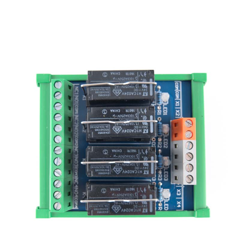 4 way Fujitsu relay single group module compatible with NPN PNP module board driver board control board PLC amplifier board in Relays from Home Improvement