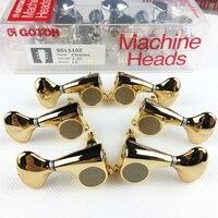 Оригинальные L3 + R3 GOTOH SGL510Z S5 Электрогитары ключи для настройки гитары (золото) Сделано в Японии