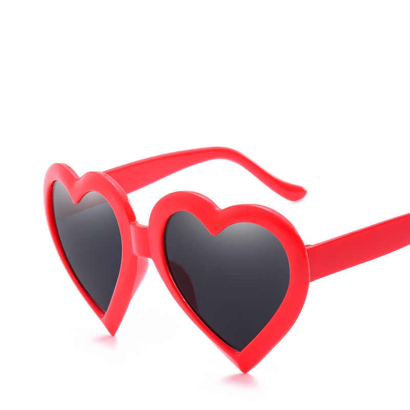 Women's Glasses Women's Sunglasses Dutiful 2018 Heart-shaped Sunglasses Women Candy Fashion Cat Eye Sun Glasses Designer Heart Lolita Eyewear Best Gifts For Girls Uv400 Relieving Heat And Sunstroke