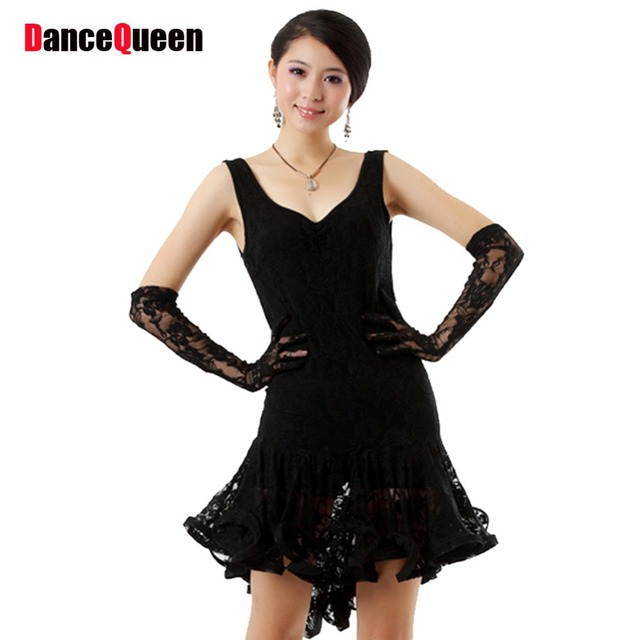 Dance group black and white dress