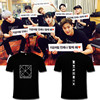 ALIPOP KPOP Korean Fashion MONSTA X Album Concert BE BEAUTIFUL Cotton Tshirt K POP T Shirts