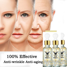 Super Anti Wrinkle Anti Aging Collagen 24k Gold Essence Skin Whitening Cream Moisturizing Face Care Hyaluronic Acid Liquid 24k collagen skin face moisturizing hyaluronic acid 30ml