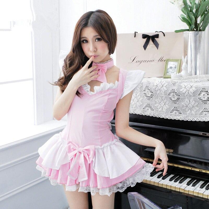 Vestido De Princesa Rosa Para Mulheres Rosa Da Empregada