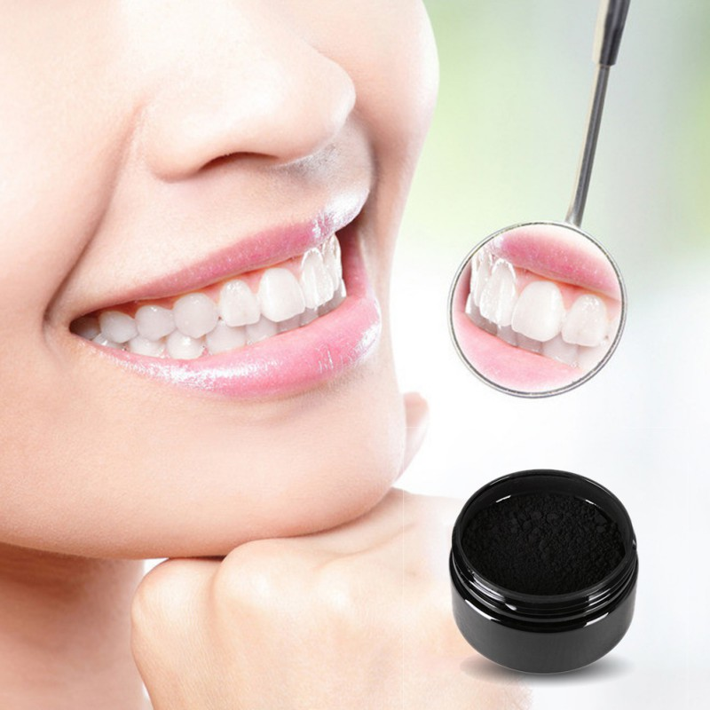 Blanqueamiento de dientes Polvo de carbón de bambú Higiene oral - Higiene oral - foto 2
