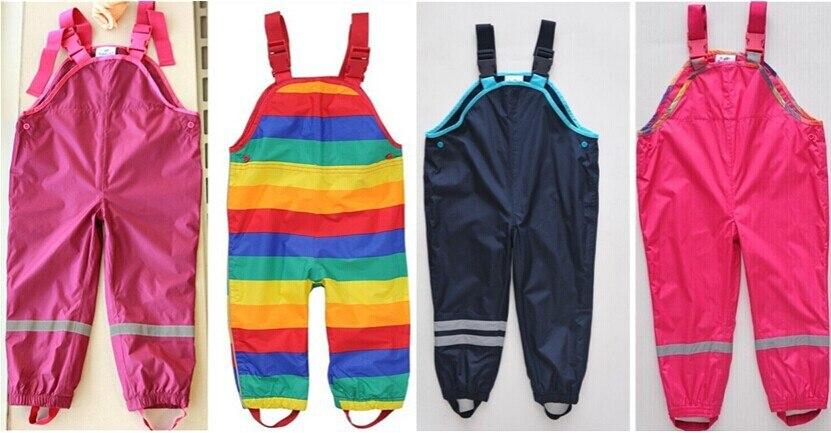 Djem dhe vajza pezullues pantallona plazhi fëmijë pantallona shiu - Veshje për fëmijë - Foto 4