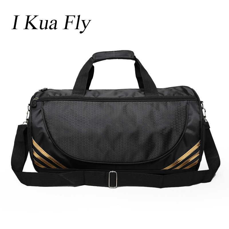 618e619016 New Gym Bag Women Men Sports Bag Fitness For Yoga Nylon Sport Travel  Training Ultralight Duffle