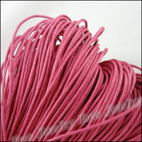 1 Strand 84M MEI Color Waxed Cotton Cords Fit DIY Bracelet Necklace Jewelry Making