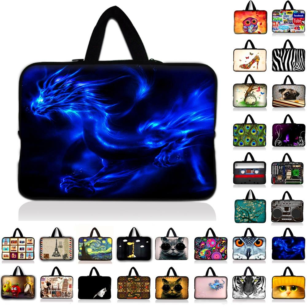 7 10 11.6 13 14 15.4 17 Neoprene Laptop Bag Sleeve Pouch Bag For Notebook Computer Bag 13.3 15.4 15.6 17.3 For Macbook Air / Pro