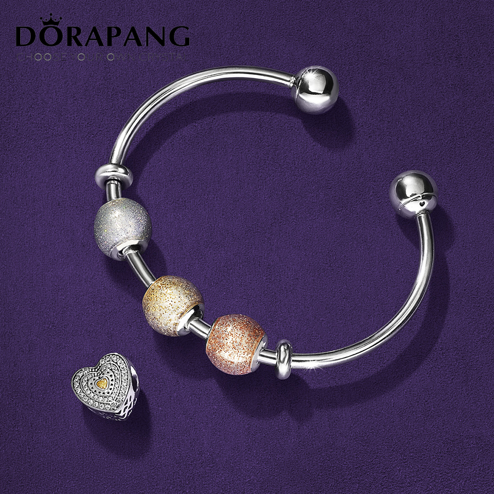 DORAPANG 100% 925 sterling silver charm smart beads classic sensitive kit Fit bracelet diy bracelet lover gift factory wholesale цены