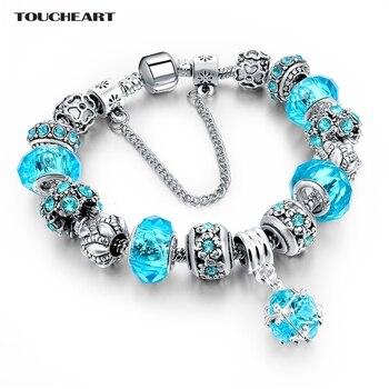 Bransoletka damska Flower Love biżuteria modułowa