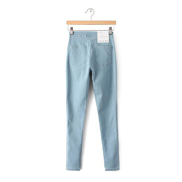 Women Jeans Pencil Pants Ladies Slim Stretch Single AA 1688520523992529 1