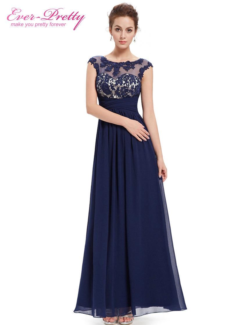 Clearance Sale] Fashion Women\'s Long Elegant Maxi Lacy Black Evening ...