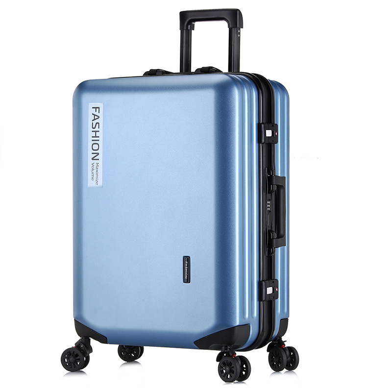 Trolley Case Boarding Wheel-Luggage Outdoor-Suitcase Fashion Business-Password PC Zipper