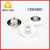 Highyag Fiber Laser Ceramic Ring Parts Nozzle Holder For Laser Cutting Machine