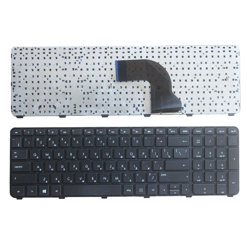 NEW Russian keyboard For HP Pavilion DV7-7000 DV7-7100 dv7t-7000 dv7-7200 dv7 7001EM RU laptop keyboard With border jowissa часы jowissa j2 010 m коллекция roma