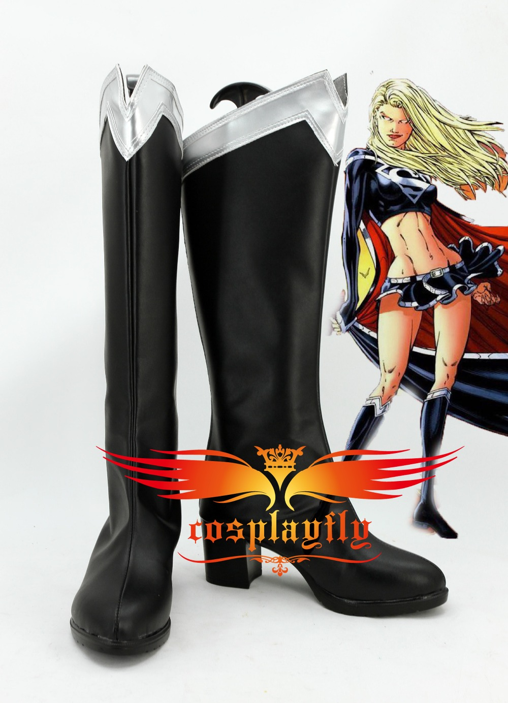 Superman/Supergirl Evil Supergirl For Adult Cosplay Black ...