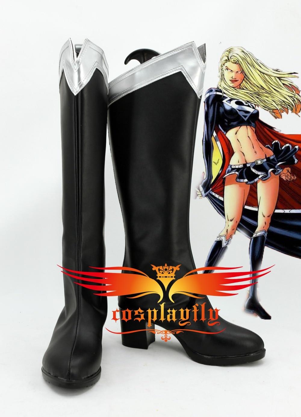 Superman Supergirl Evil Adult Cosplay Black