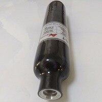Hot Sale 500cc Carbon Fiber High Pressure Air Tank Black Cylinder For Pcp Air Gun Paintball