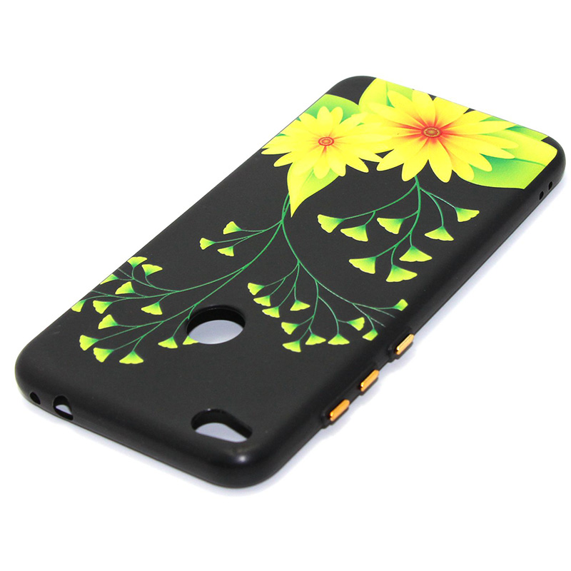 3D Relief flower silicone case huawei p8 lite 2017 honor 8 lite (26)