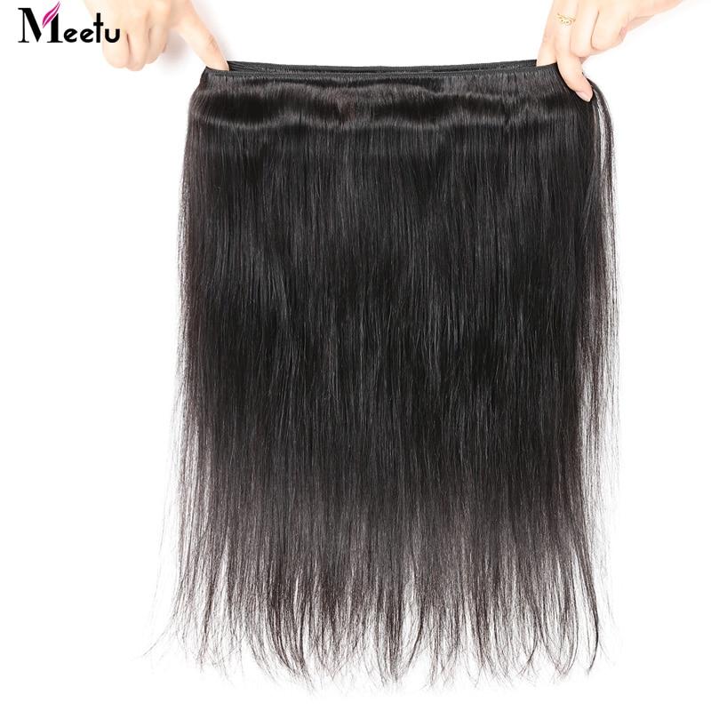 Meetu Peruvian Straight Hair Bundles 100% Real Human Hair Weave 4 - Beauty Supply - Photo 5