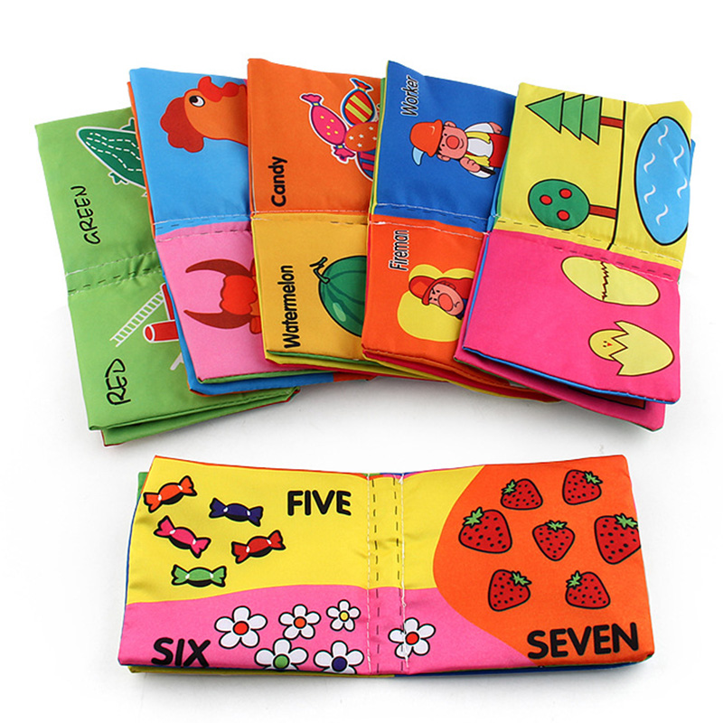 Soft Cloth Cognition Book Educational Intelligence Development Toy For Kids Baby Other Toys & Activities Baby