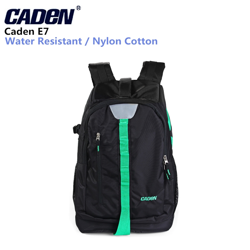 Caden E7 Protective Camera Bag Versatile Water-resistant Backpack with Inner Padded Bag for Canon Nikon Sony DSLR Camera цена и фото