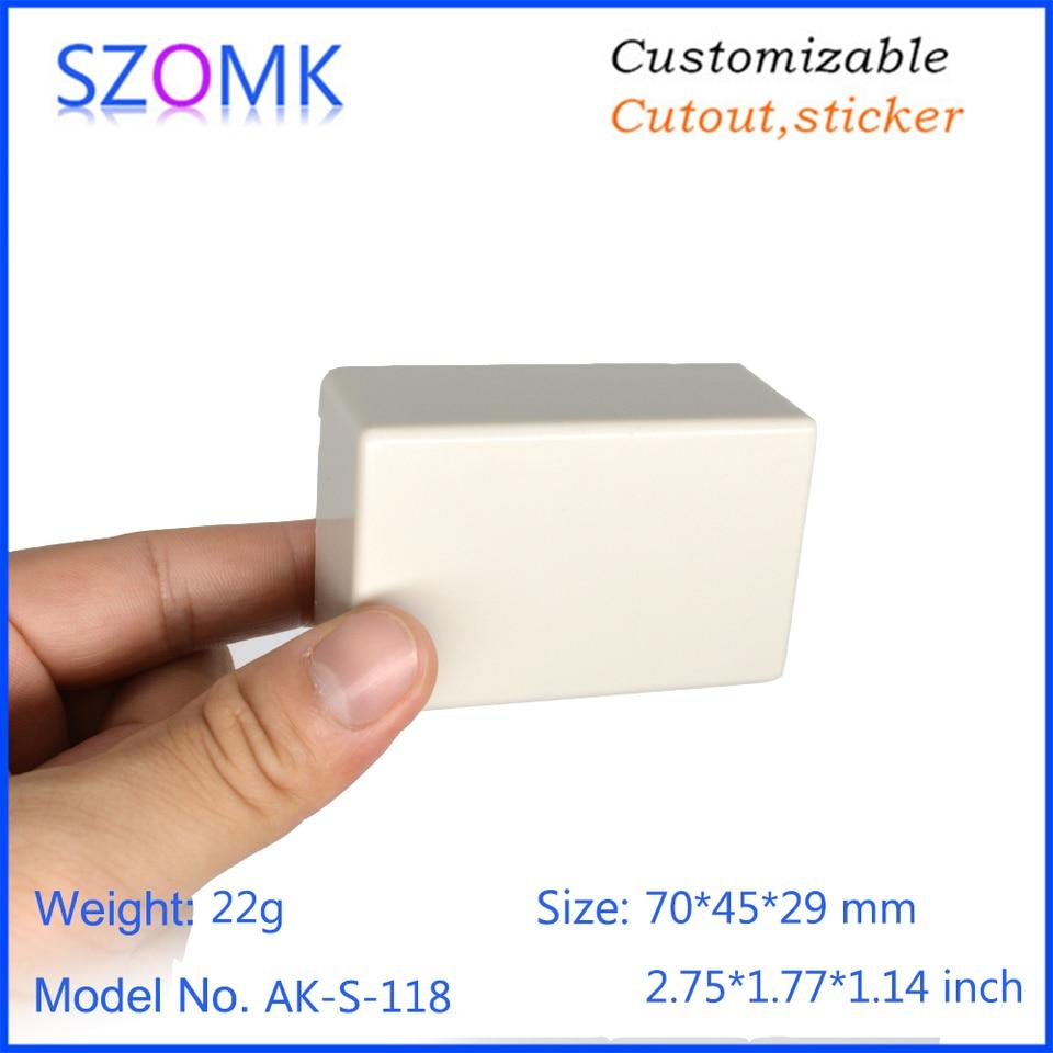 70*45*29mm Plastic Case DIY Waterproof Box White Electronic Case Junction Box