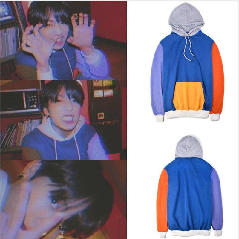 Lovely Luckyfridayf 2018 Bts Funny Animal Kpop Love Yourself Sweatshirt Women Hoodies Harajuku Hoodie Women Tracksuit Coat Unisex Less Expensive Women's Clothing