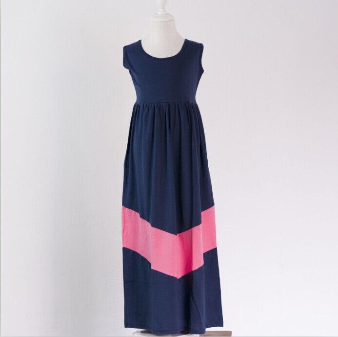 Fashion Plus Size Design mommy and me chevron dress kids apparel ...